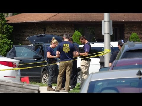 Two FBI agents shot by Gang Member found Dead on the Scene