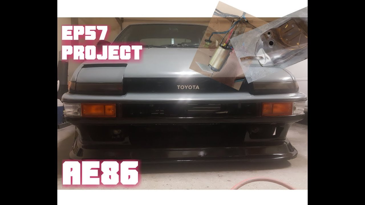 Ep55 PROJECT AE86 fuel system refresh and drive..