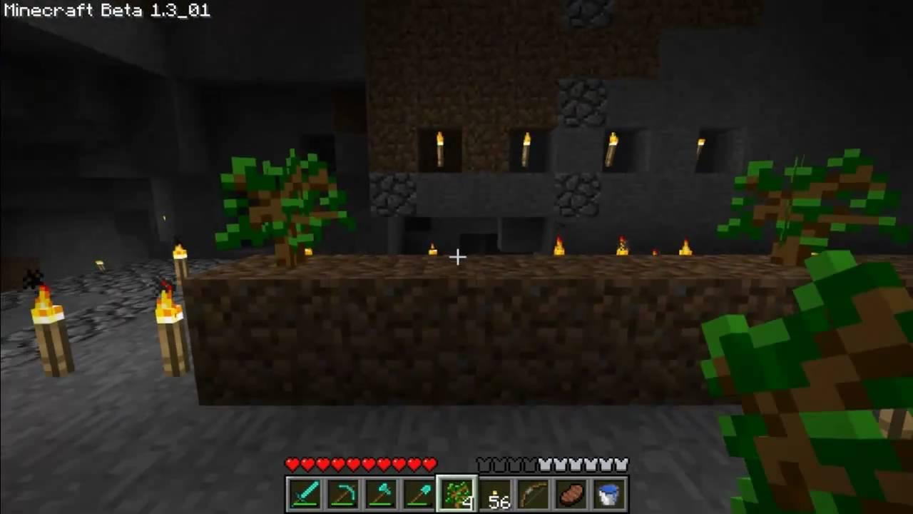 Minecraft Tutorials - 9 - How to Survive & Thrive (Underground Tree Farm)