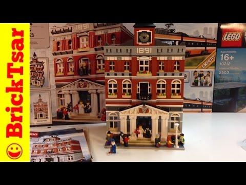 LEGO MODULAR 10224 Town Hall set Review