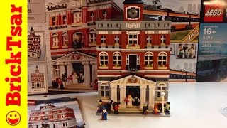 Lego Modular 10224 Town Hall Building 2766 Pieces With 8 Minifigures