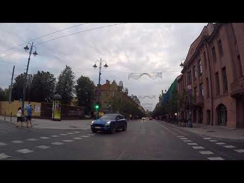 Lithuania Vilnius City center, Gopro / Lituanie Vilnius Centre ville, Gopro