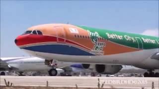 Красивые полеты самолетов