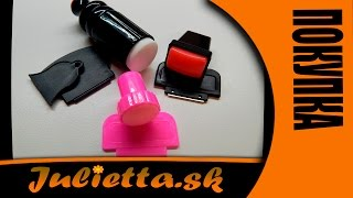 Набор штампов для дизайна ногтей (Aliexpress)