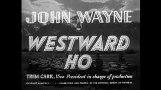 1935 - Westward Ho - Generic Film