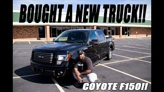 I BOUGHT A NEW TRUCK!! COYOTE F150 TRUCK TOUR!!