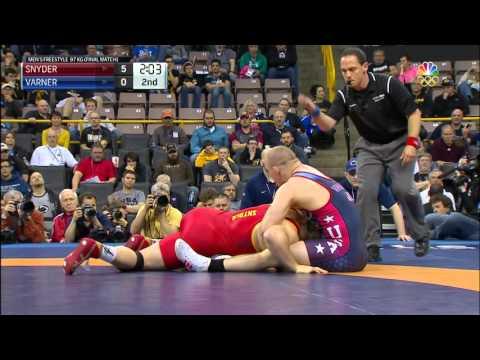 Olympic Wrestling Trials   Jake Varner vs Kyle Snyder, Match 3   Full Match