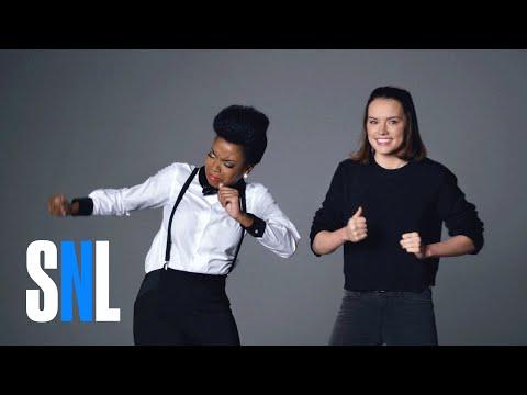 Bonus Footage: Star Wars Auditions (Daisy Ridley, Matthew McConaughey & John Boyega) - SNL