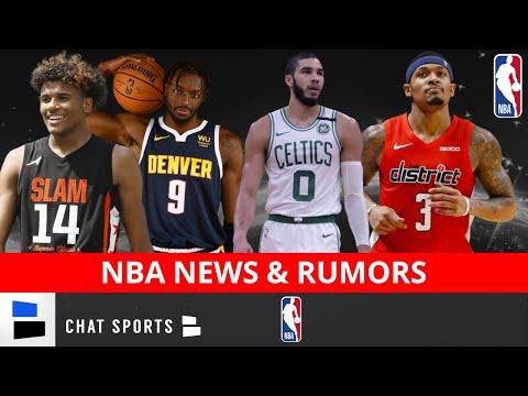 NBA Trade Rumors On Bradley Beal, Jayson Tatum's Max Contract + Jerami Grant $9.3 MM Player Option