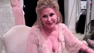 Kathy Hilton Dress Collection Interview At Saks Galleria Dallas