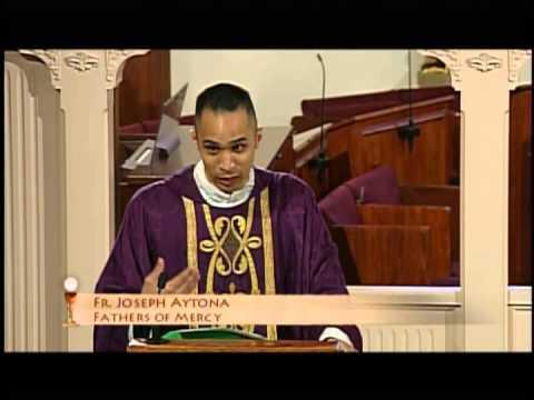 Presencia Real de Jesús en la Eucaristía (Fr Joseph Antona, Jn 8:51-59, 3/26/15)
