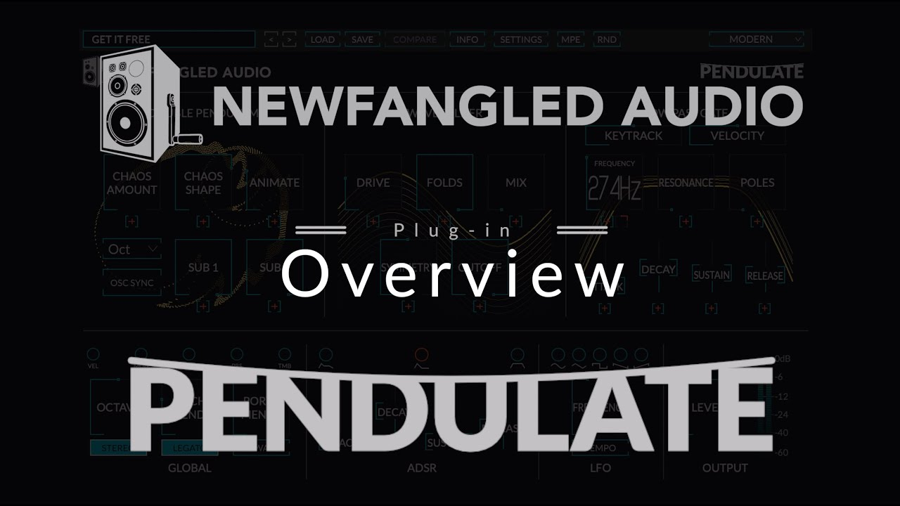 Newfangled Audio Pendulate Overview