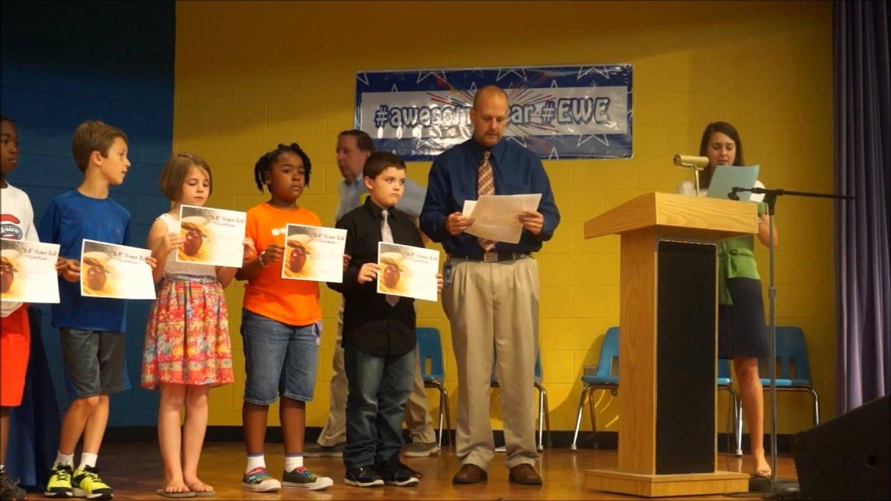 Elementary Classroom Playlist : Ellen woodside elementary awards ceremony youtube