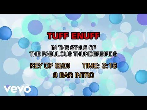 The Fabulous Thunderbirds - Tuff Enuff (Karaoke)