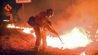 Crews Battle Tubbs Fire Threatening Calistoga