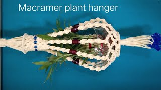 How to make plant hanger /diy …