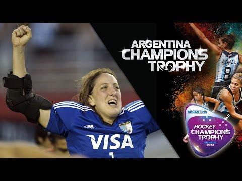Netherlands vs Argentina - Women's Hockey Champions Trophy 2014 Argentina Semi Final 2 [06/12/2014]