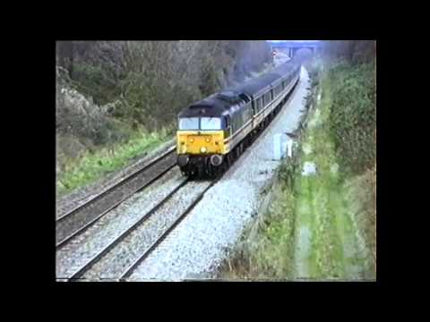 Passenger and Mail Trains around Gloucester. Early 90s