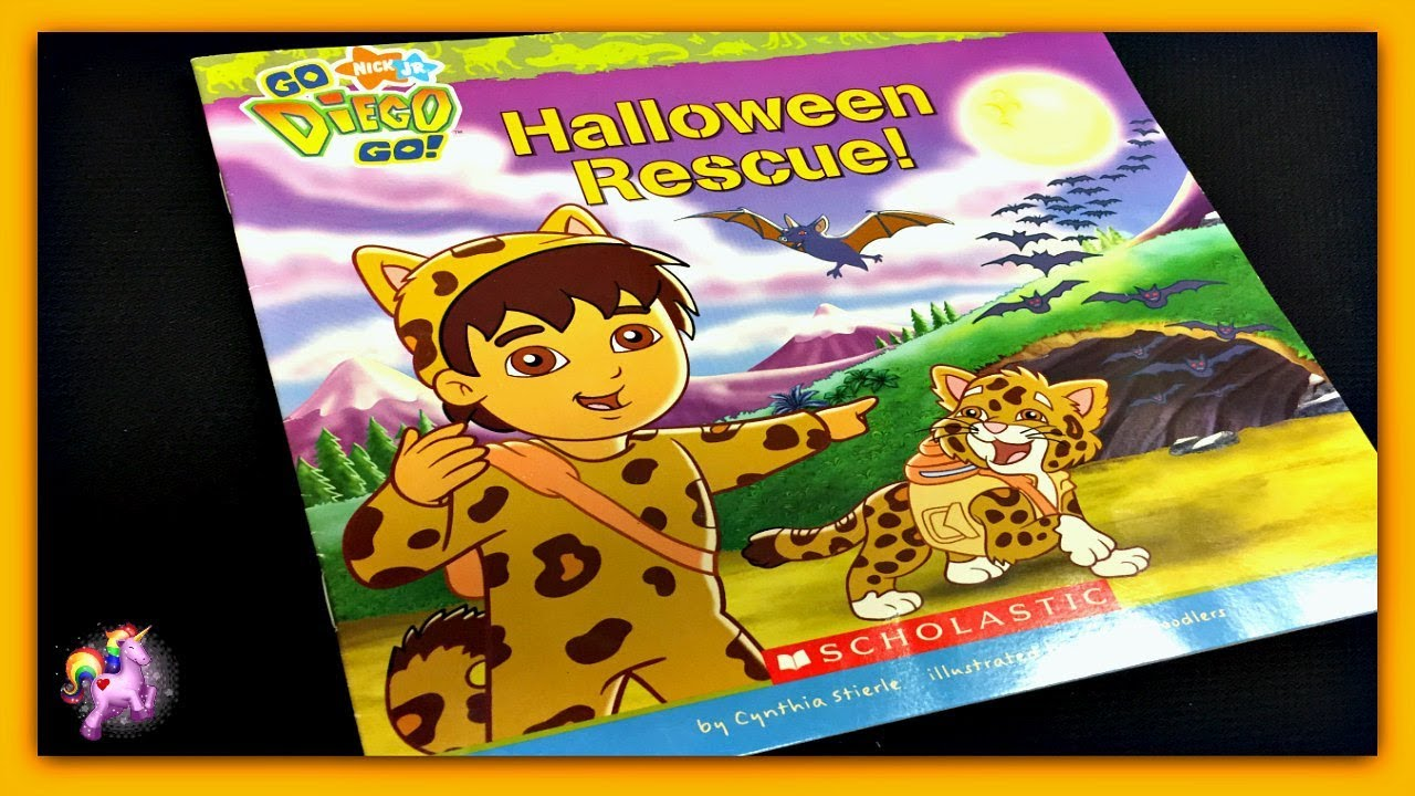 go diego go halloween rescue diego read aloud storybook for kids children adults