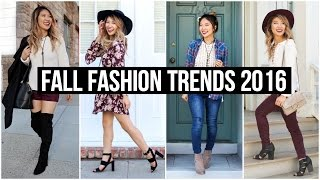 Fall Fashion Trends Lookbook 2016! Collab with Sylvia Jade