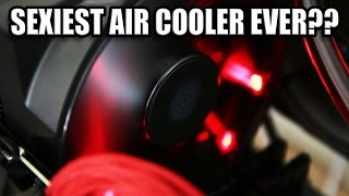 Sexiest Air Cooler Ever? - MasterAir Maker 8