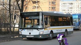Поездка на автобусе ЛиАЗ-4292.60 (Группа ГАЗ) (МТА) № 42306 Маршрут № 474 Котельники
