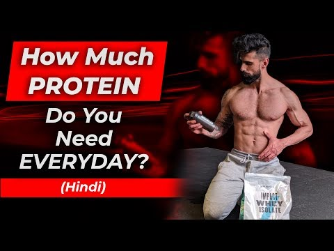 How Much PROTEIN DO YOU NEED ? | Best Protein Intake To Build Muscle And Lose Fat