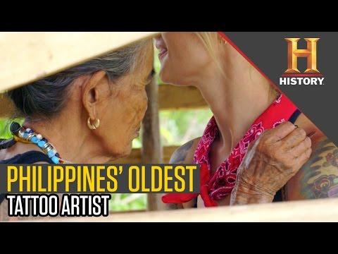 Calamansi Thorn Tattoo Creation   Ride N' Seek: Philippines with Jaime Dempsey