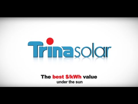 Trina Solar TSM-260PA05A, 260 Watt Solar Panel, Pallet of 25
