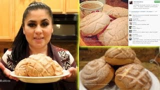 Conchas Recipe ✿ Pan De Dulce Receta (Sweet Bread) - January 11, 2014
