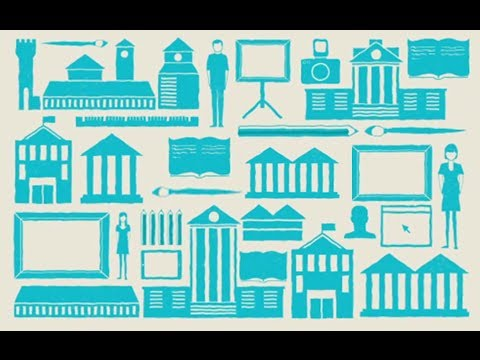 An animation: Arts Council England's mission and goals explained