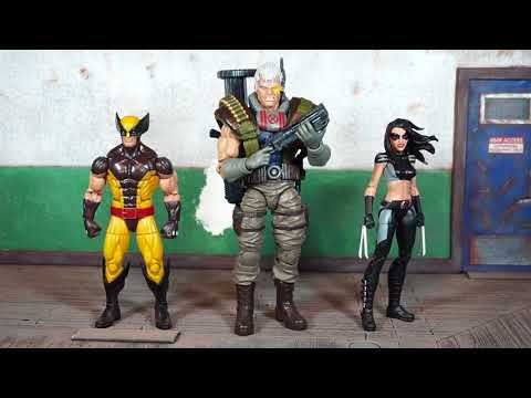 Hasbro Marvel Legends Sasquatch BAF wave CABLE Action Figure Review