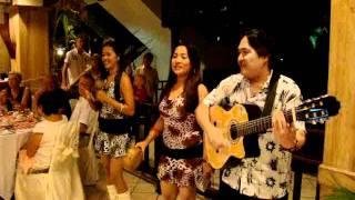 Pangkor Island, Malaysia - Chinese band singing Indian song.MPG