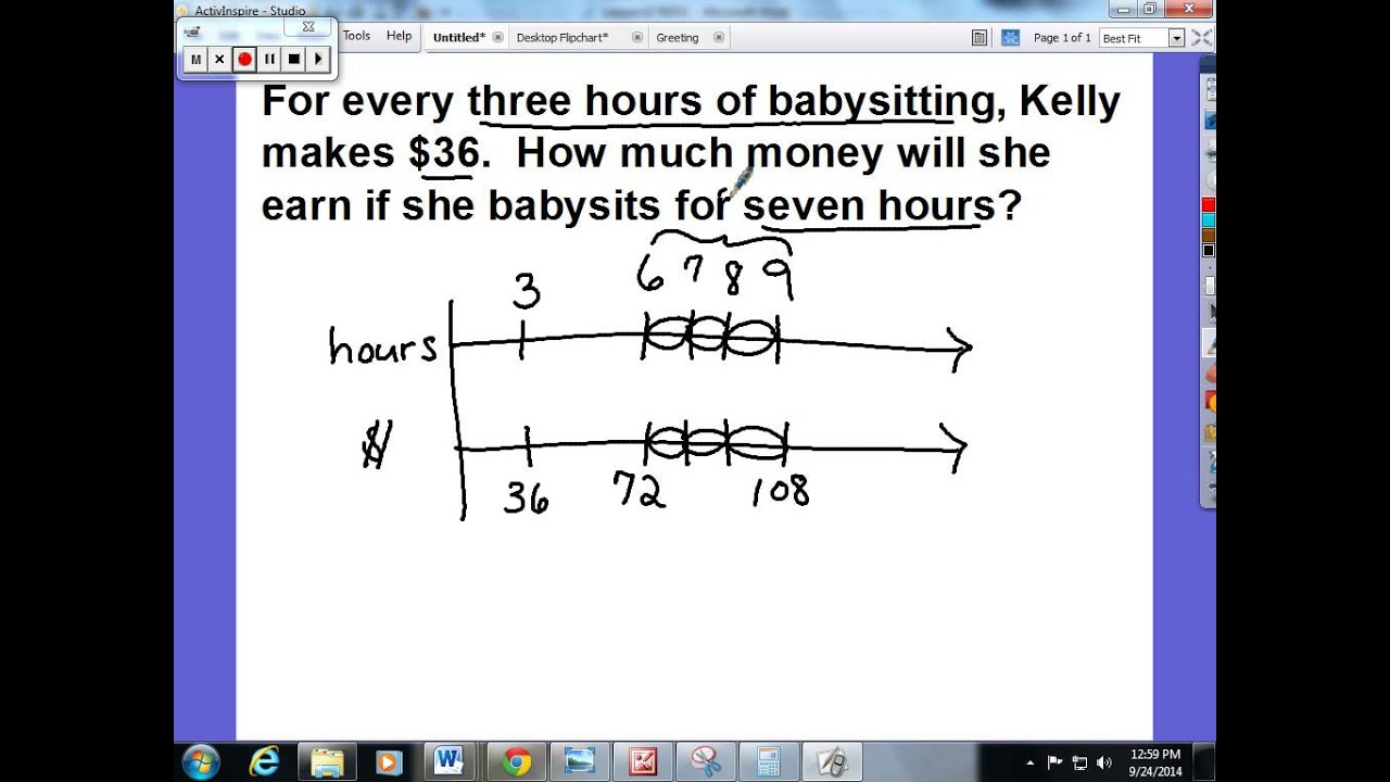 what is a number line diagram ear bone labeled 7th grade math in mcps