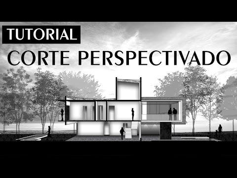 Tutorial - Corte Perspectivado - Sketchup + Photoshop | Marina Araújo