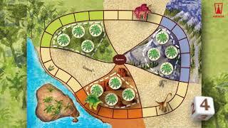 Трейлер к настольной игре Остров динозавров