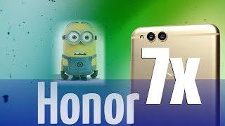 Honor 7x розпакування, міні-огляд смартфона + порівняння з Mate 10 Lite