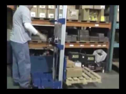 Vestil Hand Winch Lift Truck - 500-Lb. Capacity, Model# A-LIFT-CB