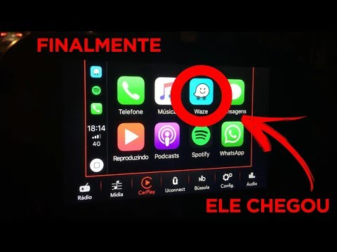 FINALMENTE: Waze Funcionando No Apple CarPlay - Fiat Argo Drive 1.3 Manual