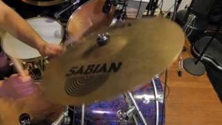 """Sabian 16"""" AAX X-Plosion Crash - Demo"""