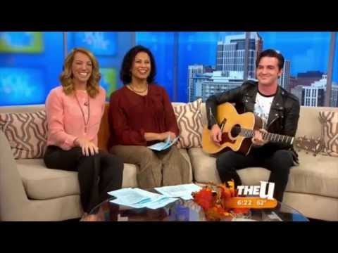Drake Bell - Interview and singing Makes Me Happy on WCIU You & Me 11/05/15