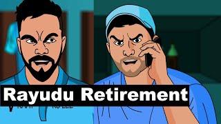 Ambati Rayudu Retirement