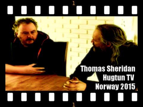 Thomas Sheridan on Hugtun TV Norway 2015