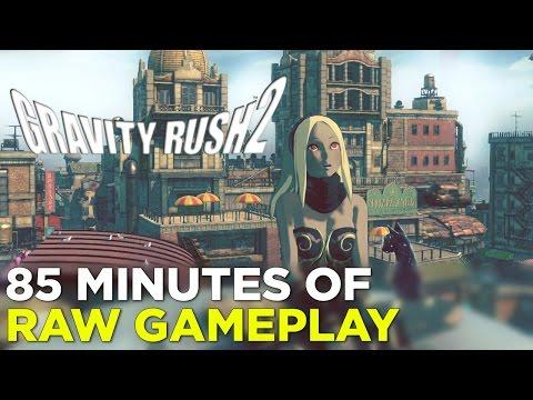 Gravity Rush 2 — 85 Minutes of GAMEPLAY!