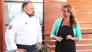 Мастер-класс от шеф-повара Ивана Мазурина. Готовим салат с апельсинами, томатами и фенхелем.
