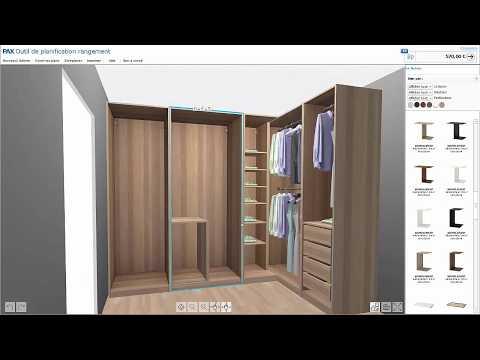 Logiciel De Dressing 3d Pax Ikea Tutoriel 2018 Youtube