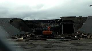 The demolition of Northgate Plaza in Greece, NY - Part thirteen