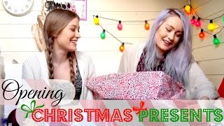 Opening Each Others Christmas Presents Thumbnail