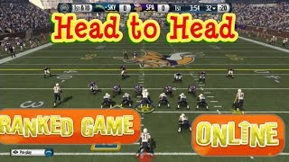madden 16 ranked game head to head running the ball madden