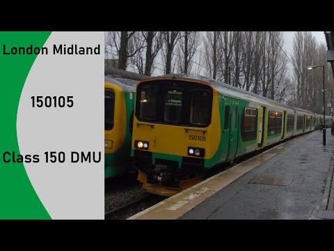 London Midland Class 150 DMU 150105